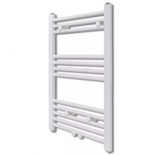 Håndklædetørrer til badeværelset centralvarme lige 500 x 764 mm