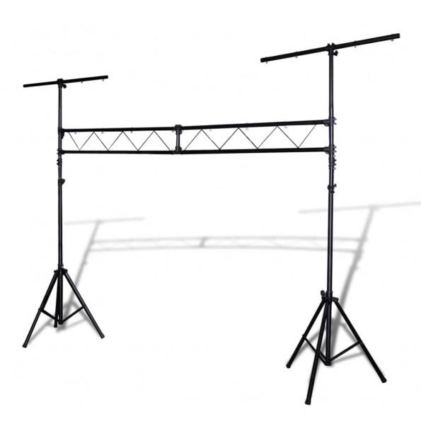 Transportabelt truss-lyssystem med 2 stativer 3 m
