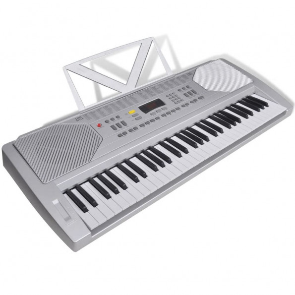 Keyboard-instrumenter, musik står 61 klaver nøgler