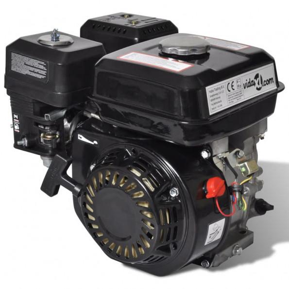 Benzinmotor 6,5 HK 4,8 kW sort
