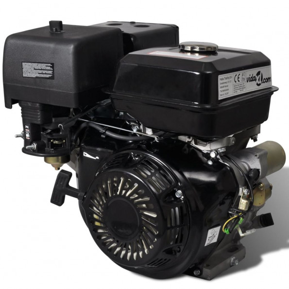Benzinmotor 15 HK 9,6 kW sort