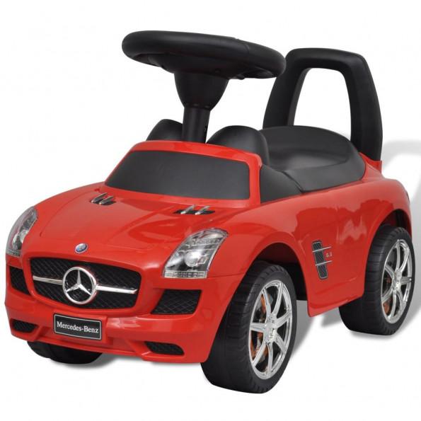 Mercedes Benz skubbevogn rød