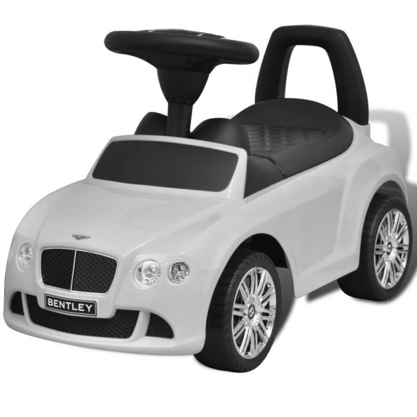 Bentley Fod Drevet Kids Bil Rød