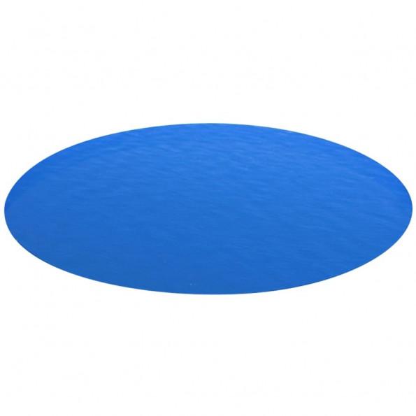 Poolovertræk rundt 549 PE blå
