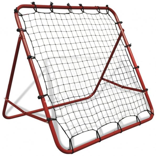 Justerbar fodbold kickback rebounder 100 x 100 cm