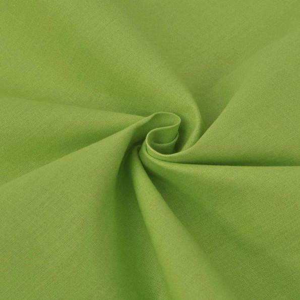 Bomuldsstof 1,45 x 20 m grøn
