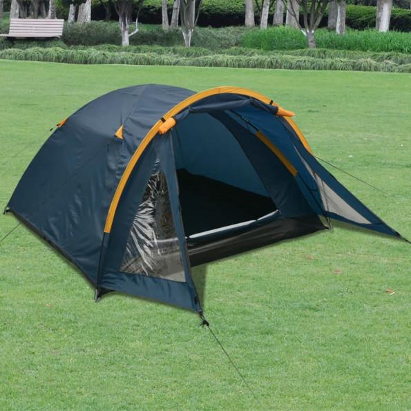 3-personers telt blå