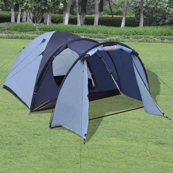4-personers telt blå