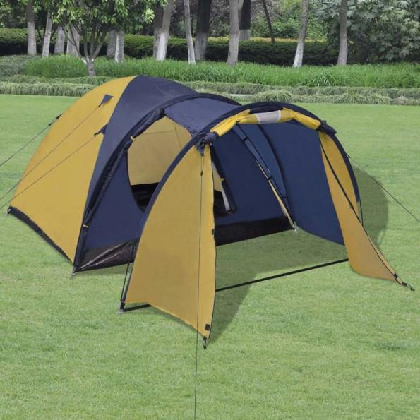 4-personers telt gult