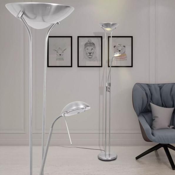 Dæmpbar LED-gulvlampe 23 W
