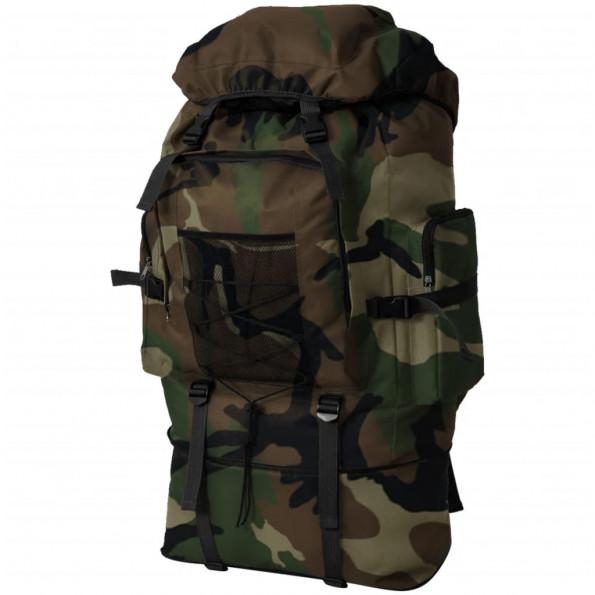 Militærygsæk XXL 100 l Camouflage