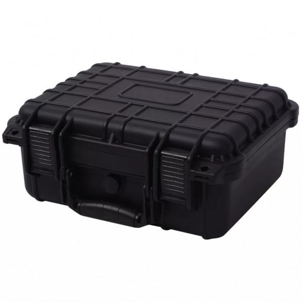 Sikkerhedskuffert 35x29,5x15 cm sort