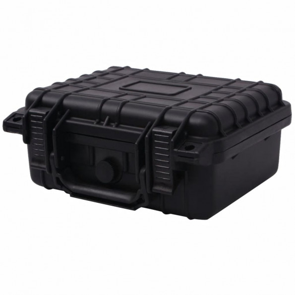 Sikkerhedskuffert 27x24,6x12,4 cm sort