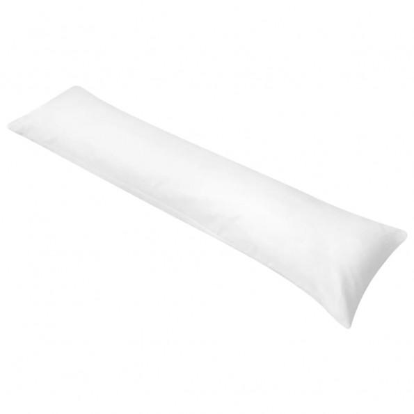 131582 kropspude til sidesovende 40 x 145 cm hvid