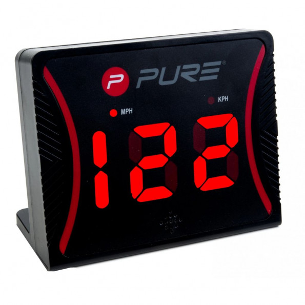 Pure2Improve hastighedsmåler sort plastik