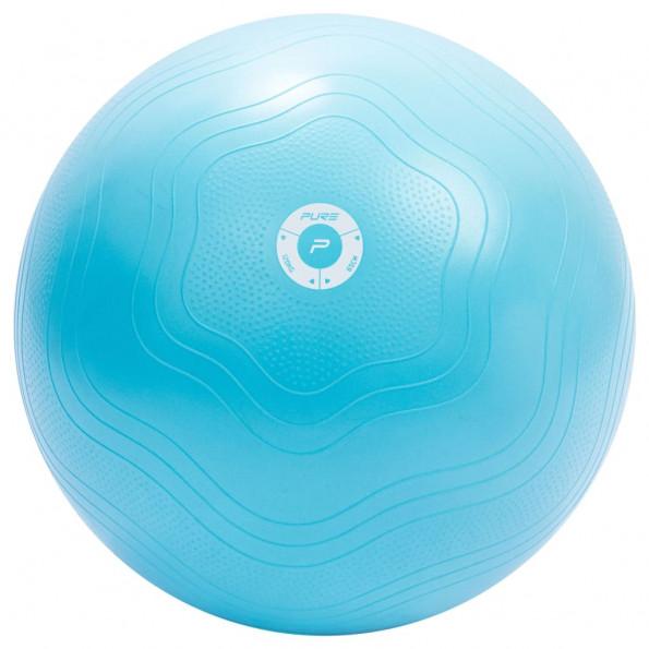 Pure2Improve træningsbold 65 cm lyseblå