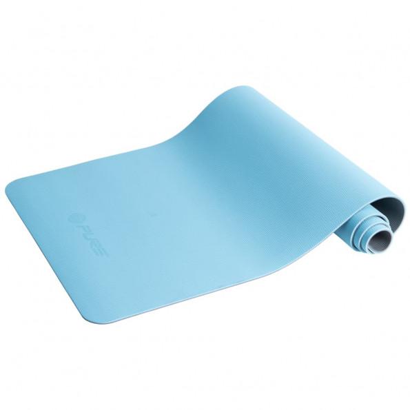 Pure2Improve yogamåtte 173 x 58 x 0,6 cm blå og grå