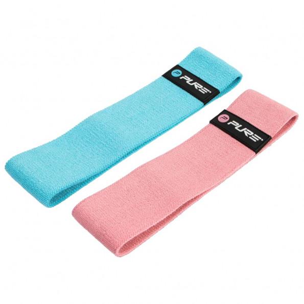 Pure2Improve træningsbånd blå og pink