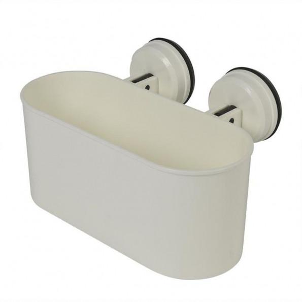 ProPlus badeværelseshylde med sugekop 6 kg plastik hvid