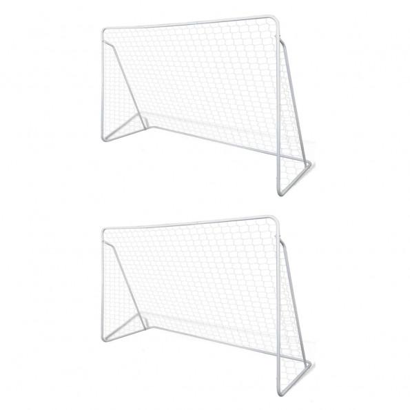 Fodboldmål 2 stk. 240 x 90 x 150 cm