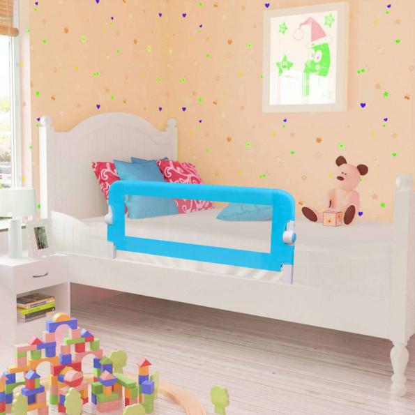 Sengehest til børn 2 stk. blå 102 x 42 cm