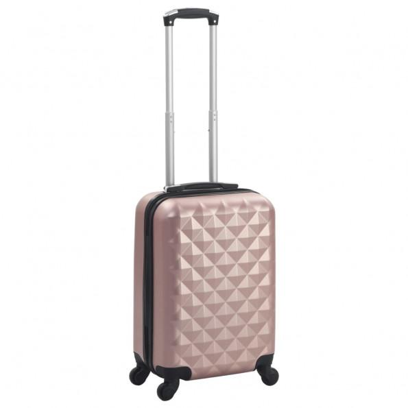 Hardcase-kuffert ABS rosenguld