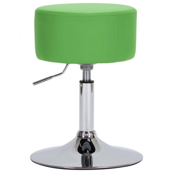 Barstol kunstlæder grøn