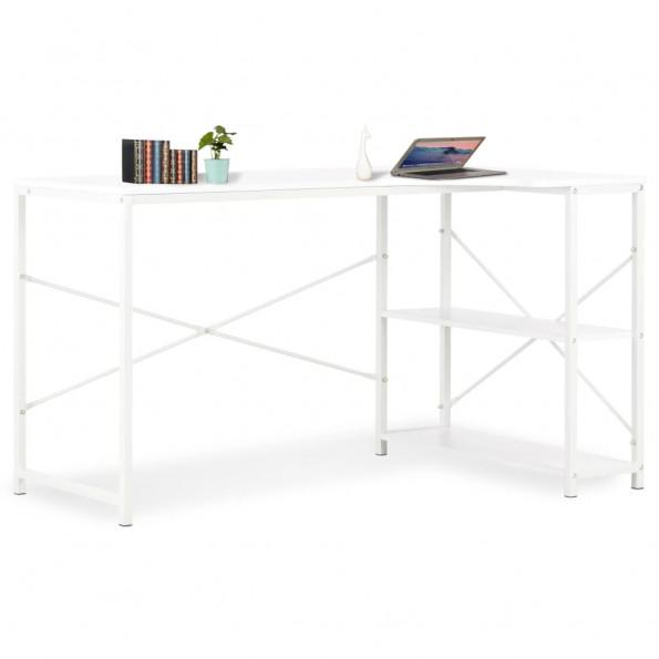 Computerbord 120 x 72 x 70 cm hvid