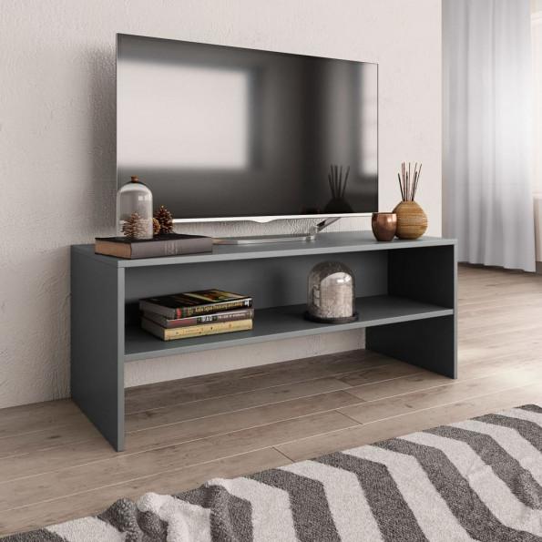 Tv-skab 100 x 40 x 40 cm spånplade grå