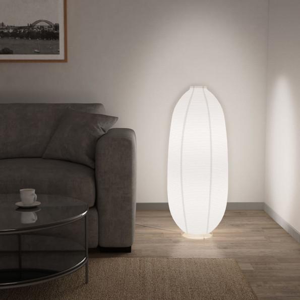 Gulvlampe E14 hvid
