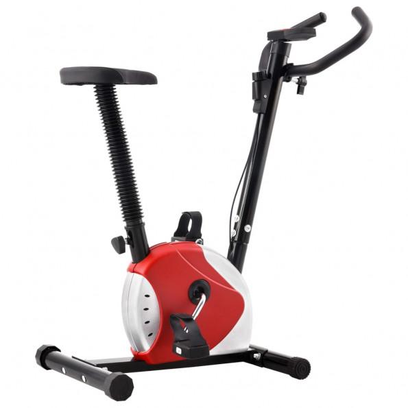 Motionscykel med båndmodstand rød