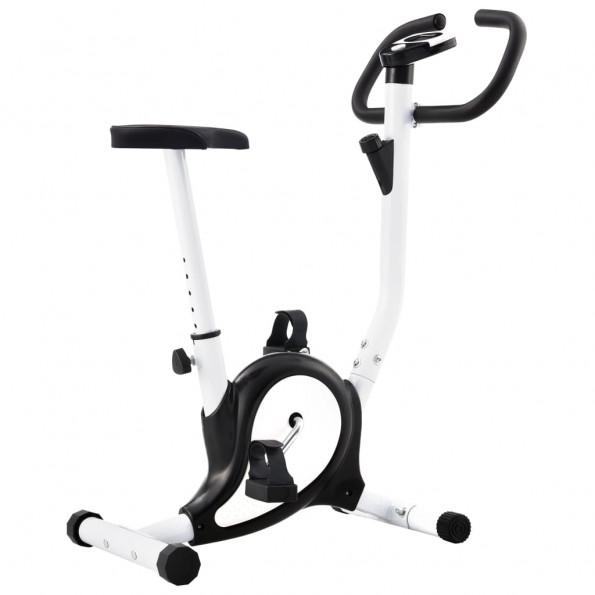 Motionscykel med båndmodstand sort