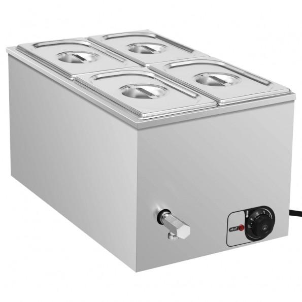 Au Bain Marie-madvarmer 1500 W GN 1/4 rustfrit stål