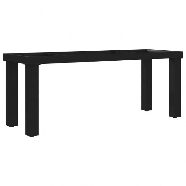 Bænkstel I-formet 105 x 36 x 42 cm