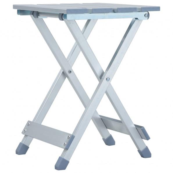 Campingstol 28 x 26 x 39 cm aluminium