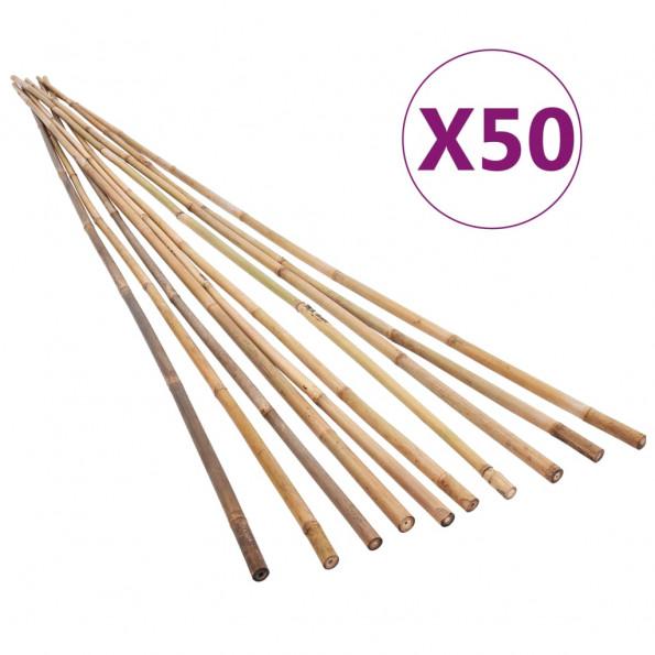 50 stk. bambuspinde til haven 170 cm