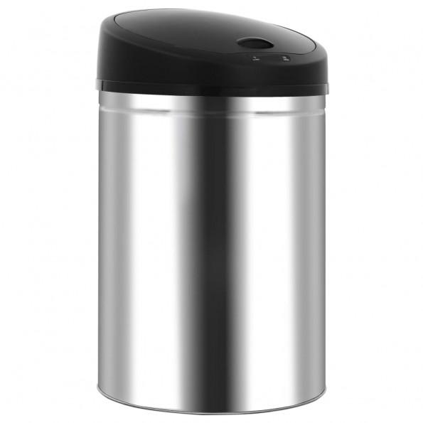 Affaldsspand med automatisk sensor 32 l rustfrit stål