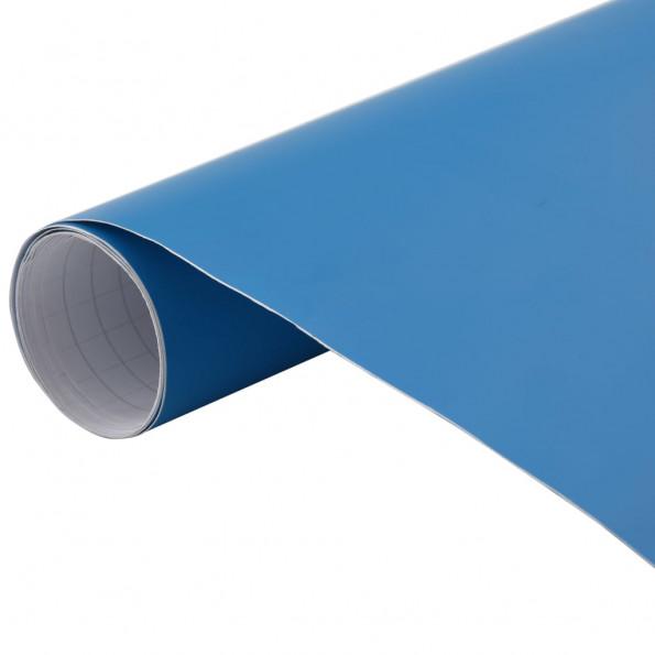 Bilfolie 200x152 cm mat blå