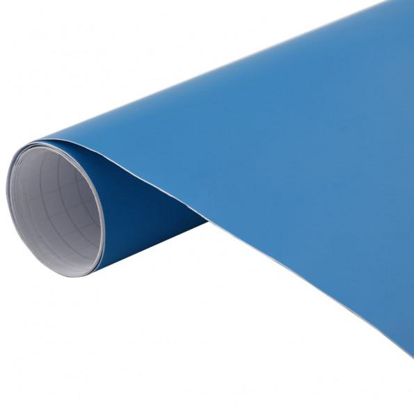 Bilfolie 500x152 cm mat blå