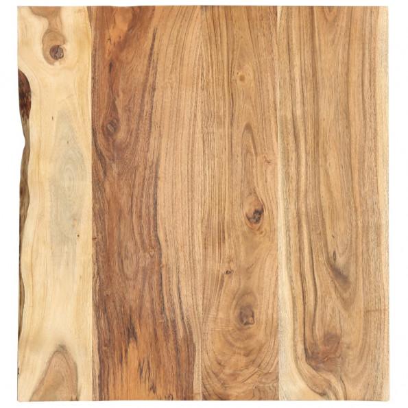 Bordplade til toiletbord 60x55x2,5 cm massivt akacietræ