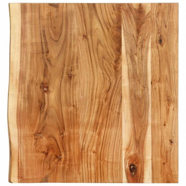 Bordplade til toiletbord 60x55x3,8 cm massivt akacietræ