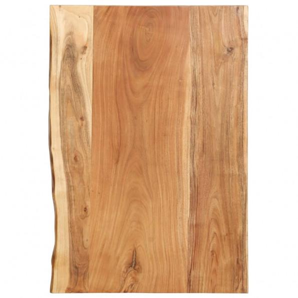 Bordplade til toiletbord 80x55x3,8 cm massivt akacietræ