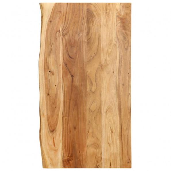 Bordplade til toiletbord 100x55x2,5 cm massivt akacietræ