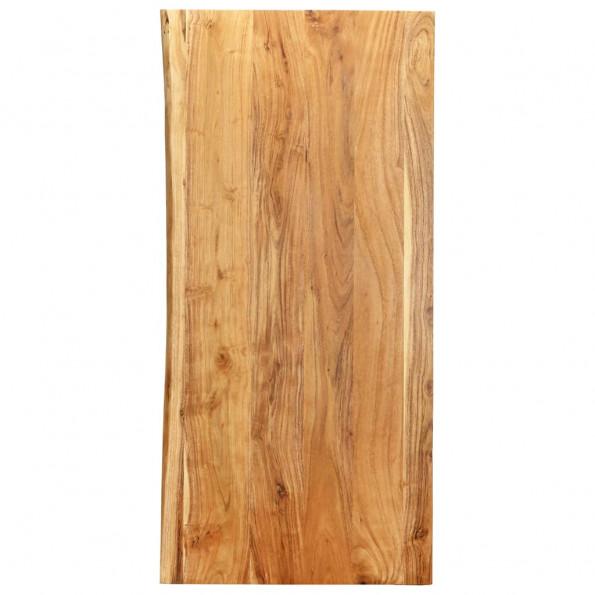 Bordplade til toiletbord 120x55x2,5 cm massivt akacietræ