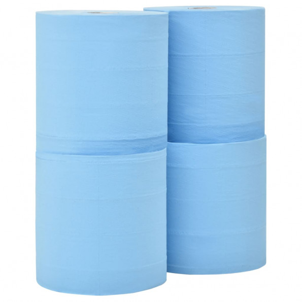 3-lags industrielle papirruller 4 ruller 38 cm