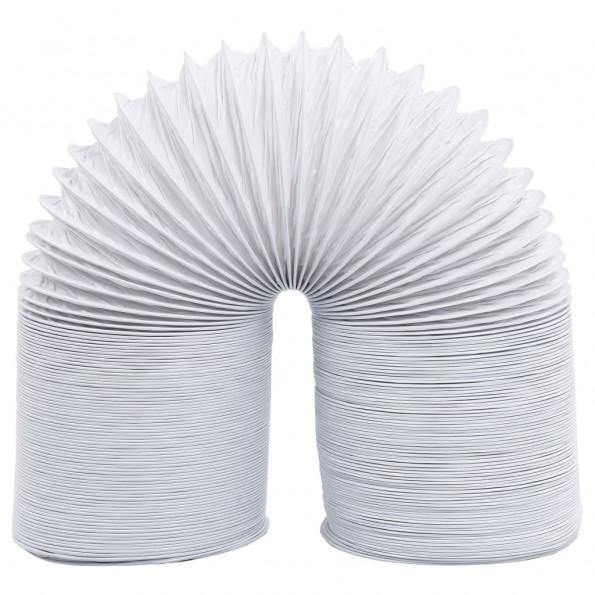 Udluftningsrør 6 m 10 cm PVC