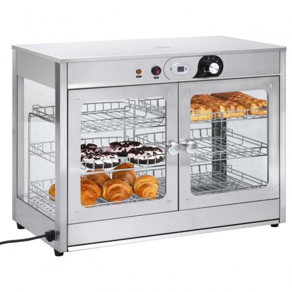 Elektrisk gastronorm madvarmer 1200 W rustfrit stål
