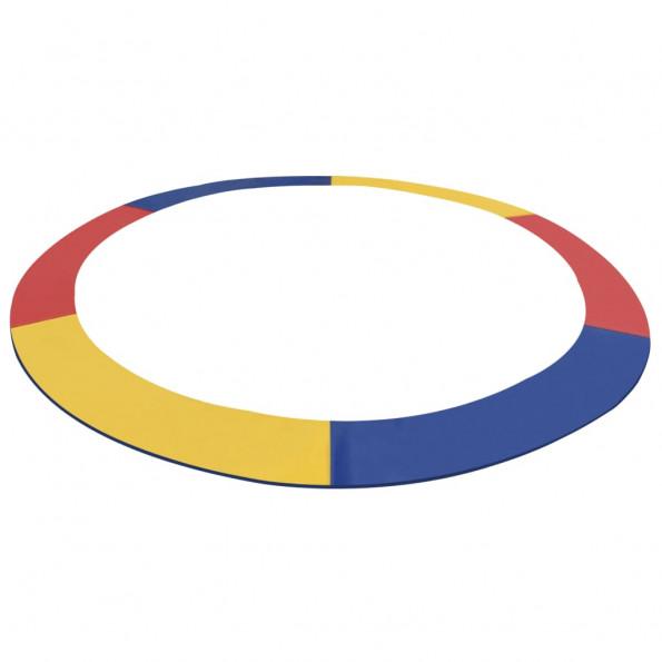 Sikkerhedsmåtte til 12 ft/3,66 m rund trampolin PVC flerfarvet