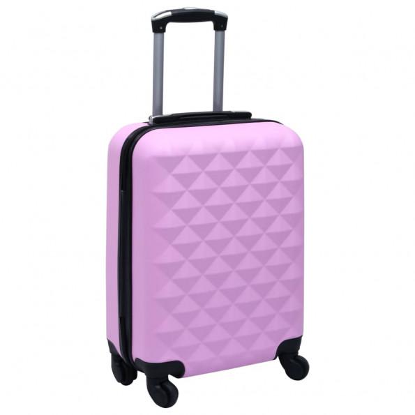 Hardcase-kuffert ABS pink