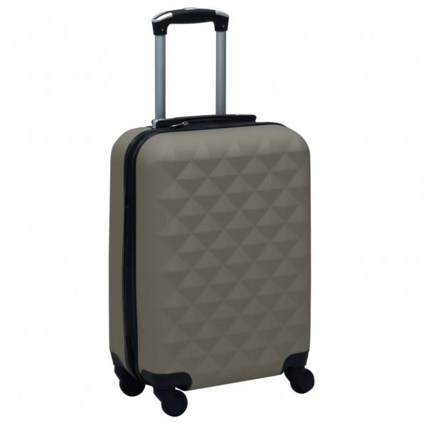 Hardcase-kuffert ABS antracitgrå